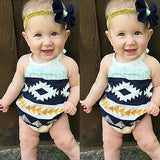 Baby Girls aztec Rompers