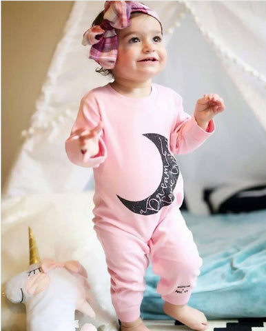 Baby Girls Moon Jumpsuit