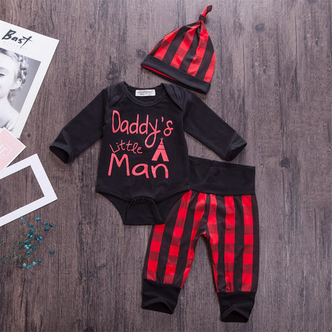 3Pcs baby boy set