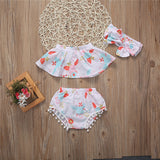 Baby Girl Off Shoulder 3PC  set