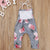 BabyGirl Flower Jumpsuit