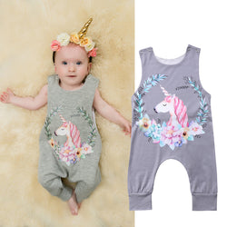 Girl Unicorn Jumpsuit