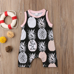 Baby Girl Pineapple Jumpsuit