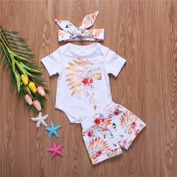 Girl Feather 3 pcs