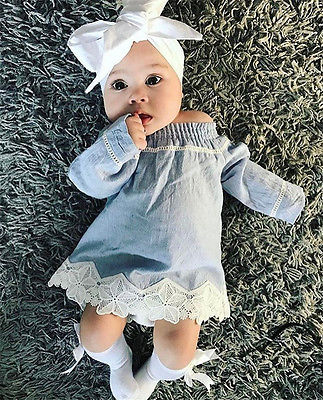Baby Denim Dress