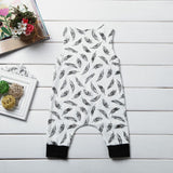 Baby Feather Romper