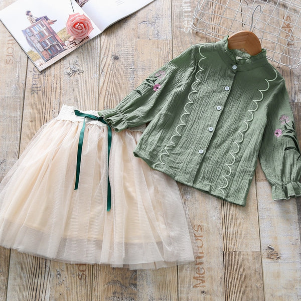 Girls Tutu Dress With Shirt