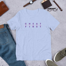 Cheat First mens tee