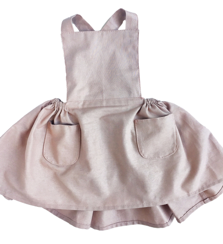 Emilia Dress - Dusty Rose