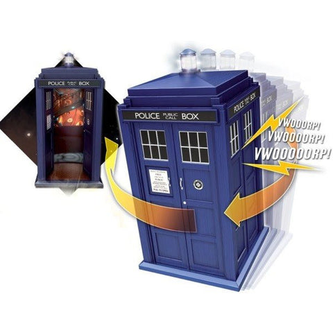 11th Doctor's Flight Control TARDIS