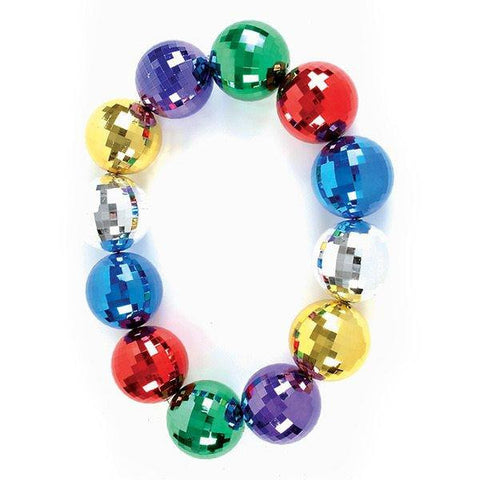 "48"" - 12 Mirror Ball Bead Necklace"