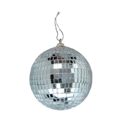 "04"" Disco Mirror Ball (SILVER)"