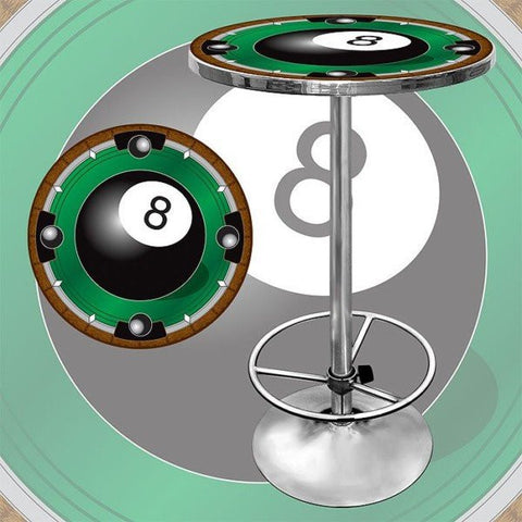 8 Ball Light bar Table