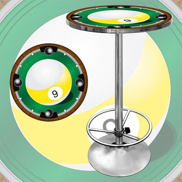 9 Ball Light bar Table