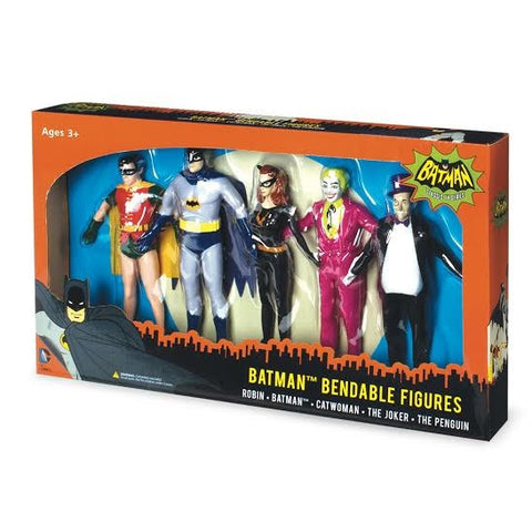 Batman Bendable Figures Set