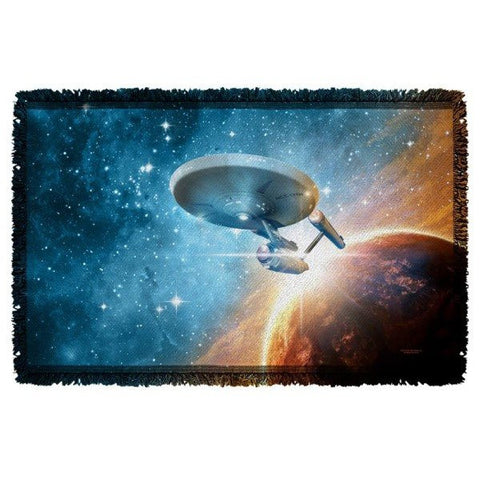 Star Trek Final Frontier Woven Throw
