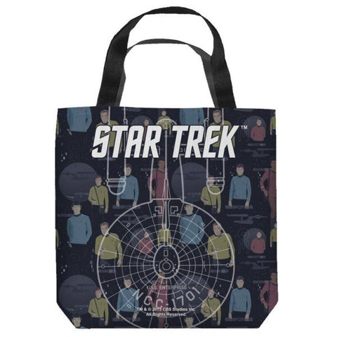 Star Trek Enterprise Tote Bag