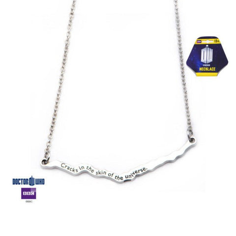 "Doctor Who ""Cracks in the Skin of the Universe"" Necklace"