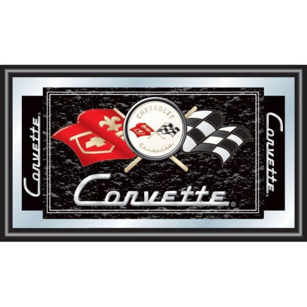 Corvette C1 Framed Mirror