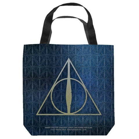 Harry Potter Deathly Hallows Tote Bag