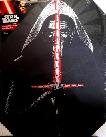 Star Wars Kylo Ren Illuminating Canvas (Small)