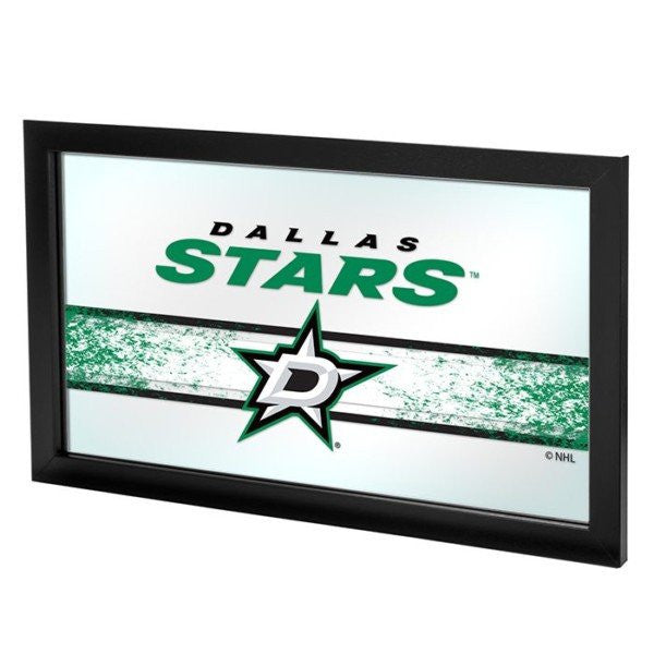 NHL Dallas Stars Framed Team Logo Mirror