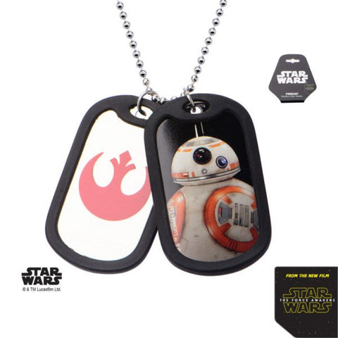 Star Wars BB-8 Dog Tag Necklace