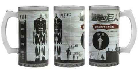 Attack on Titan Class Beer Mug
