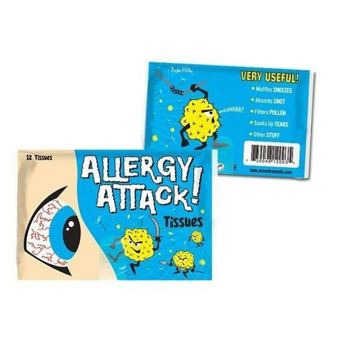 Allergy Attacks! Tissues