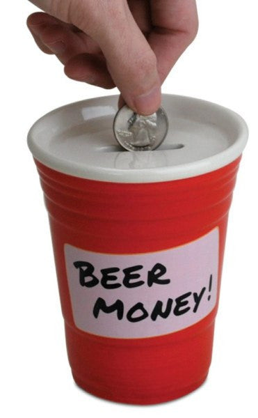 Beer Money Party Cup Bank