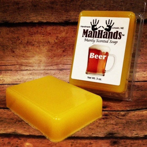 Beer Scented Man Soap