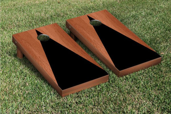 Black Rosewood Stained Cornhole Game Set