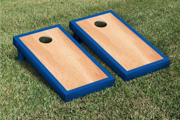 Blue Hardcourt Cornhole Game Set