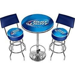 Ultimate Bud Light Bar Stools and Table Set
