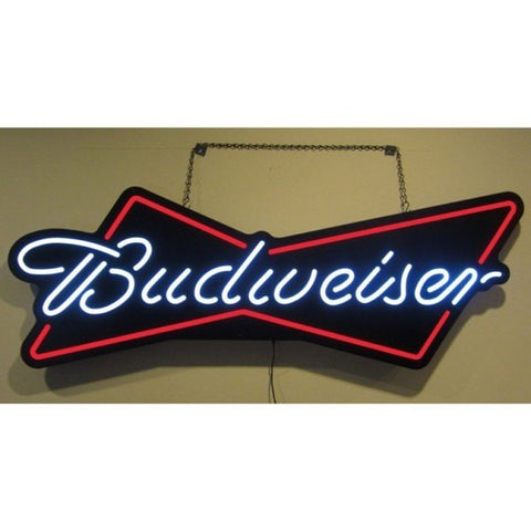Budweiser Bowtie Neon-style LED Sign