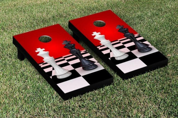 Chess Cornhole Game Set