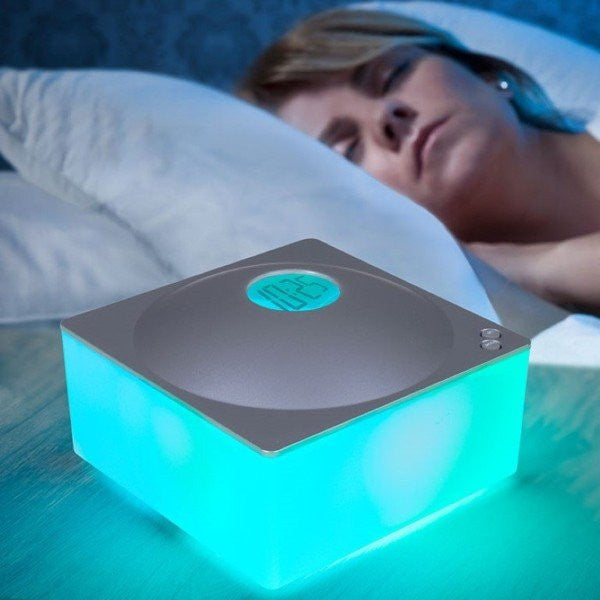 Color Changing Soothing Sound Clock and MP3 Player