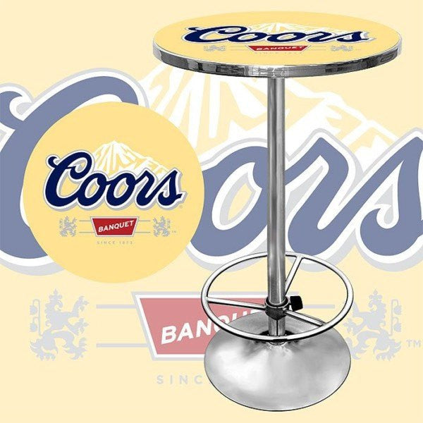 Coors Banquet bar Table