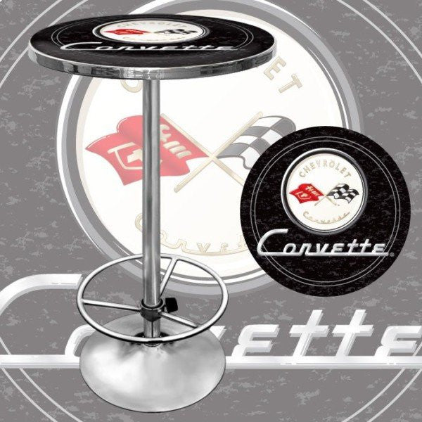Corvette C1 bar Table Black