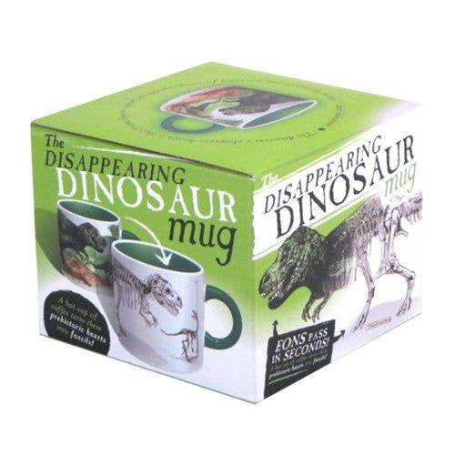 Disappearing Dinosaurs Mug - Heat Changing Mug