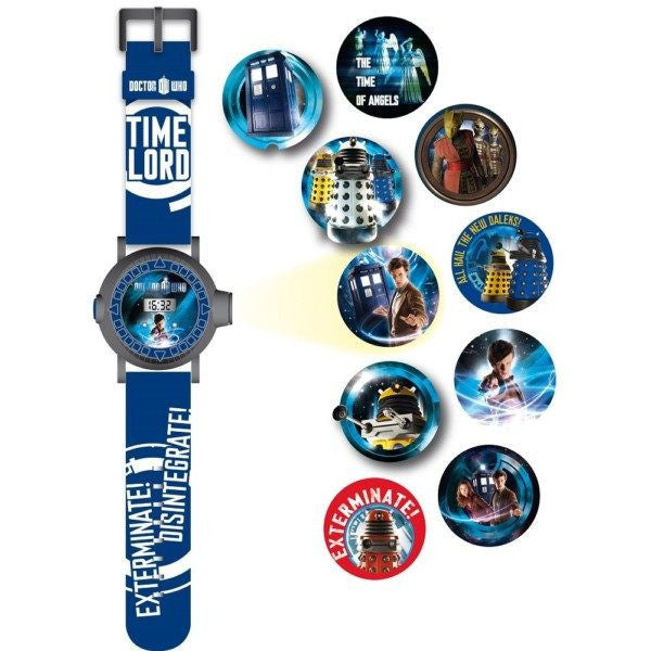Doctor Who Time Lord Projector Watch