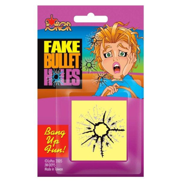Fake Bullet Hole Stickers