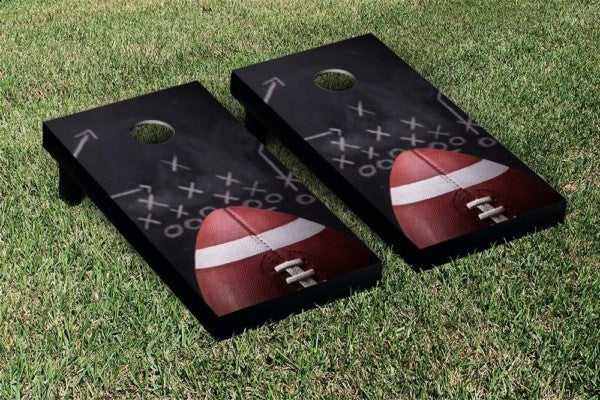 Football Play Cornhole Game Set