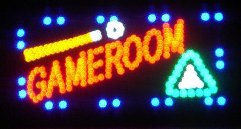 Game Room Led Signs