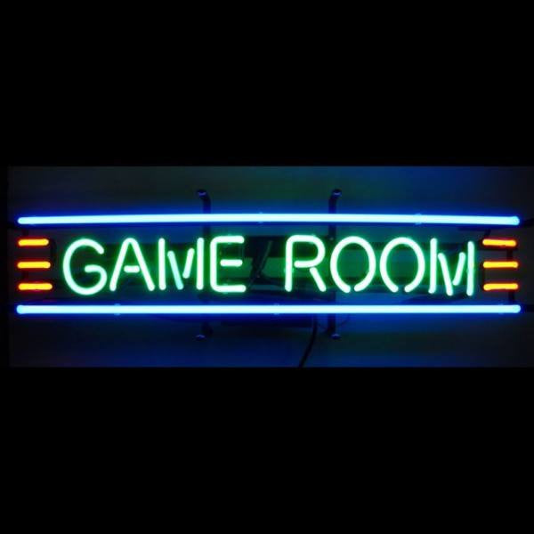 Game Room Neon Sign