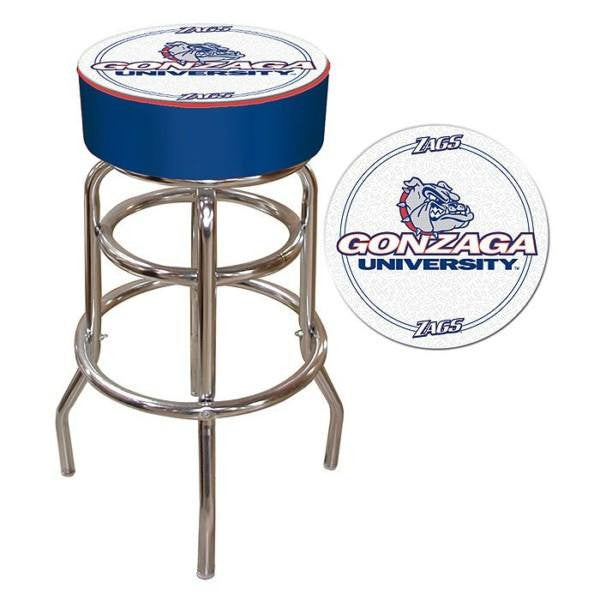 Gonzaga University Padded Bar Stool