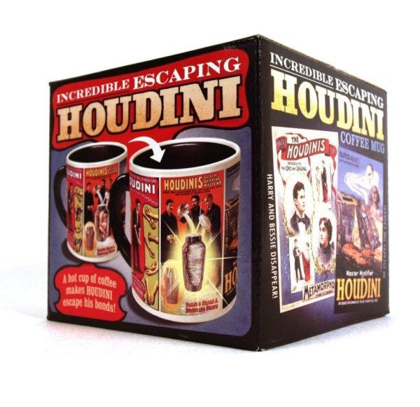Incredible Escaping Houdini Mug - Heat Changing Mug