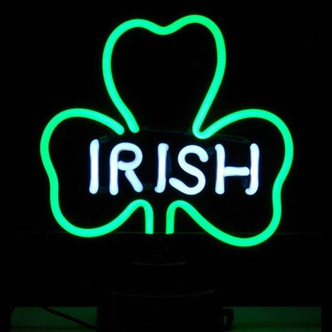 Irish Shamrock Neon Sculpture Light
