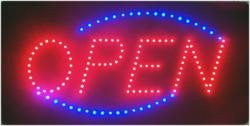 Open Led Signs