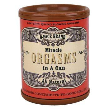 Orgasms In A Can